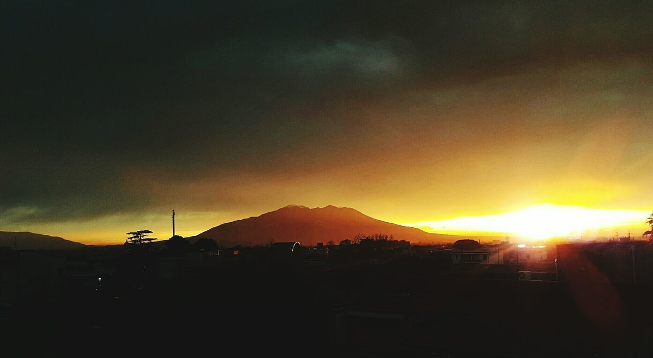 What's out of your window? VESUVIO 1.0 Sky Cloud - Sky Vesuvius  Naples Napoli Sunset Outdoors Nature Beauty In Nature Scenics First Eyeem Photo