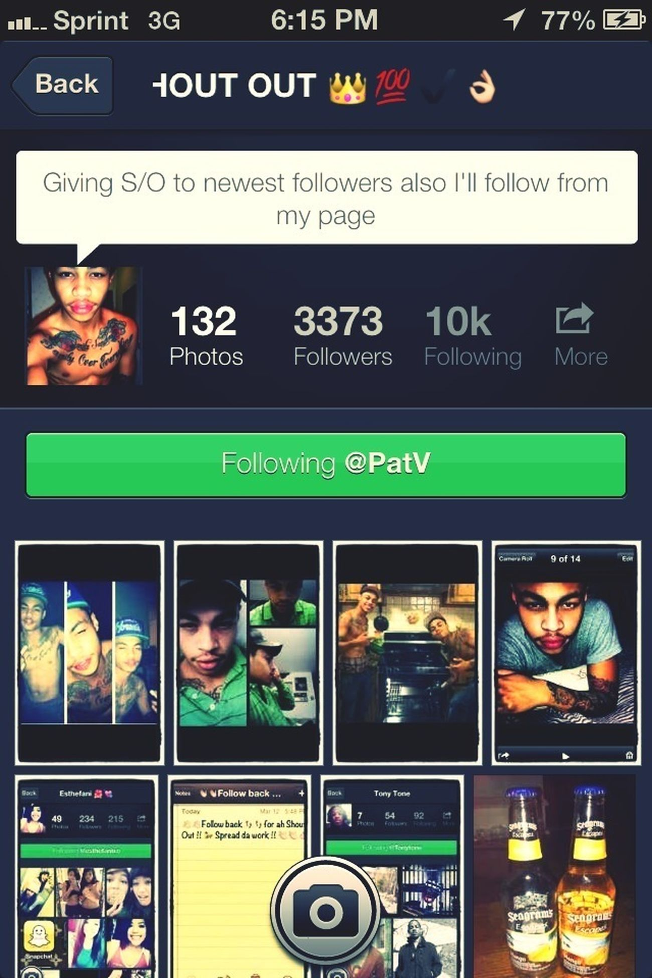 Go follow him for me ! (: