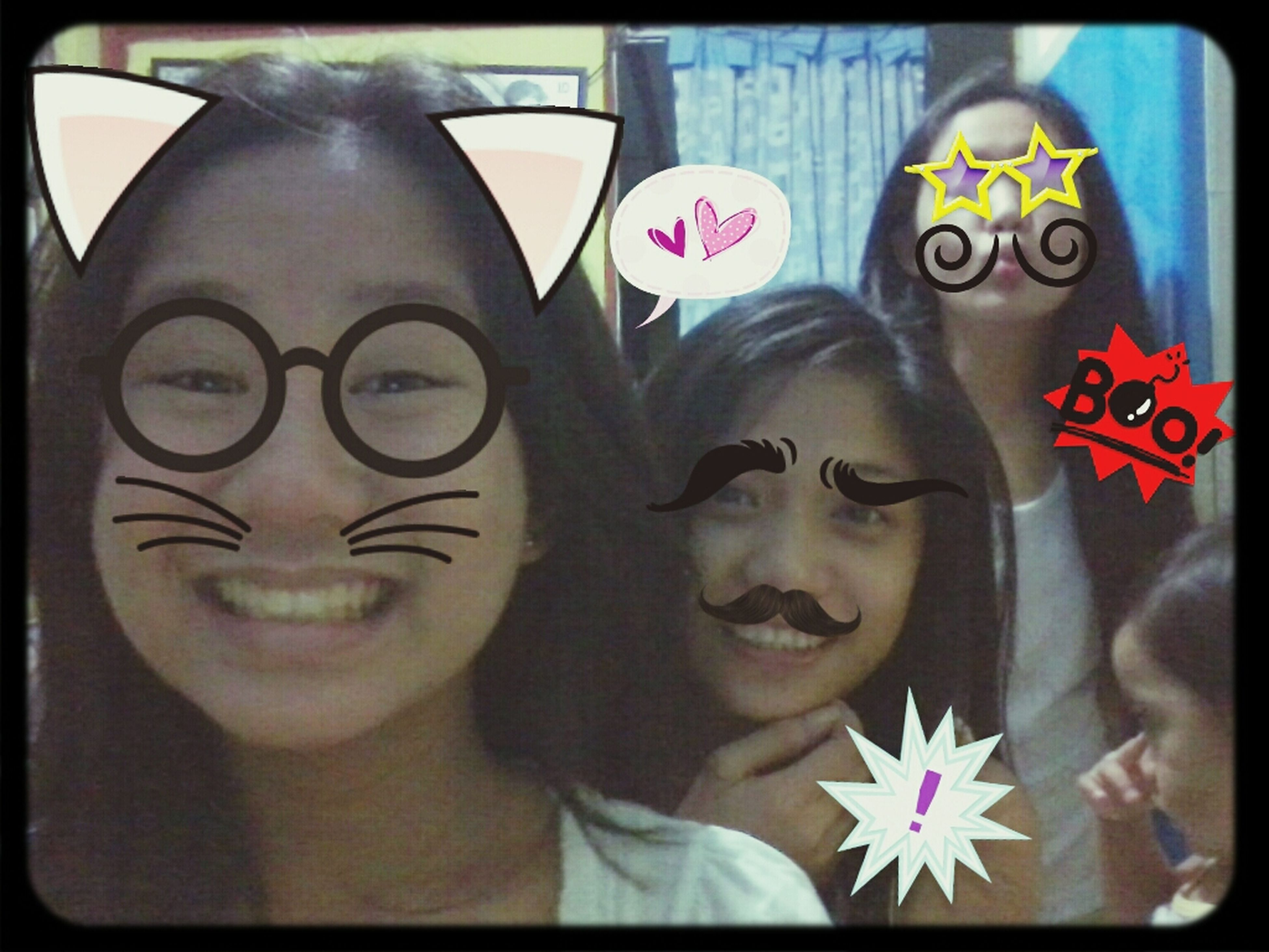 with my cousin and my sister in the back ♥ haha editted ♥ Family Yow Niggas Hi! Taking Photos