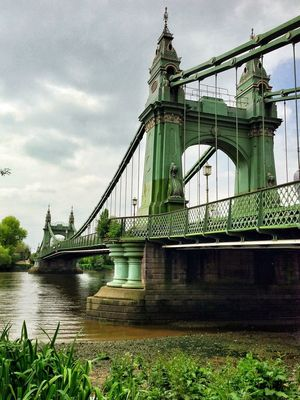 at Hammersmith Bridge by Chris