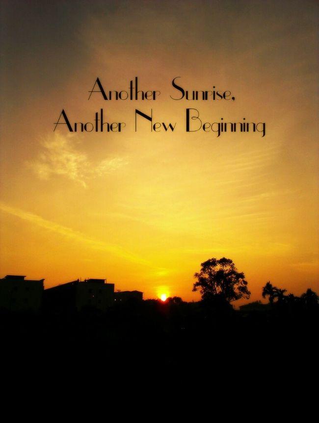 Nature Sunrise Typography Sunriseporn