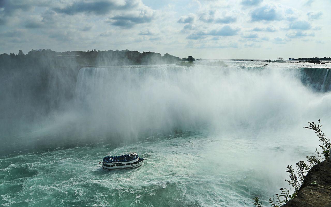 Beautiful stock photos of niagara falls, Beauty In Nature, Capital Cities, Cloud - Sky, Day