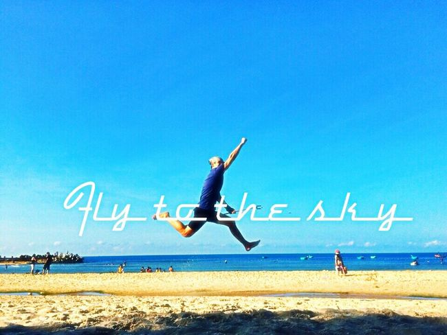Fly in blue Summer ☀ Holiday♡ Beach Photography Mui Ne Relaxing Enjoying Life