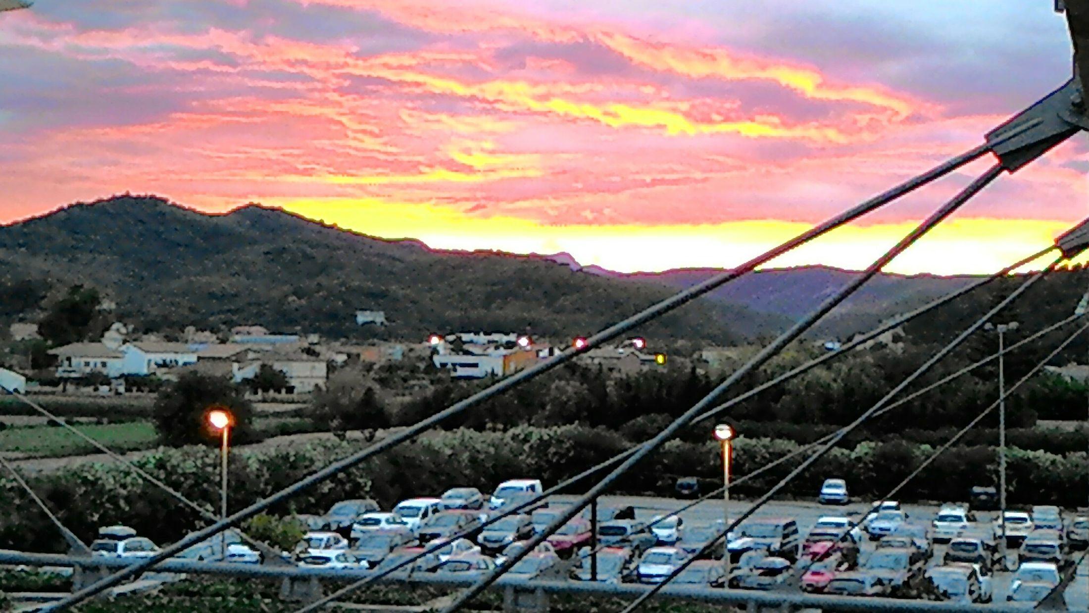 Puesta De Sol Atardecer en Santasusana Despues de la tormenta viene la calma. My Smartphone Life Eyeembarcelona
