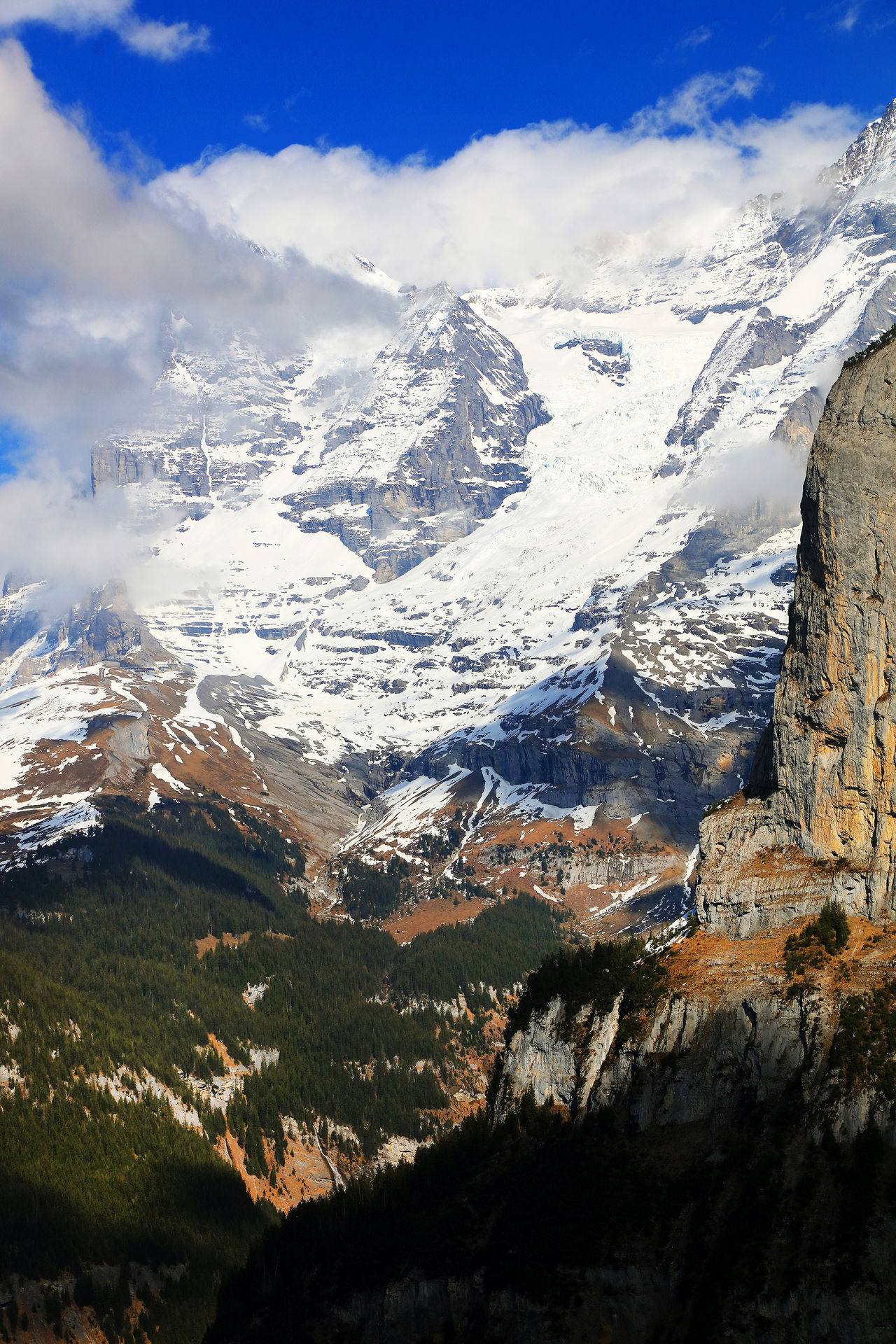 Canon Alpi Beauty In Nature Berne Berner Oberland Day Jungfrau Landscape Landscape_Collection Mountain Mountain Range Nature No People Outdoors Scenics Sky Swimming Switzerland Tranquil Scene Tranquility Travel Destinations
