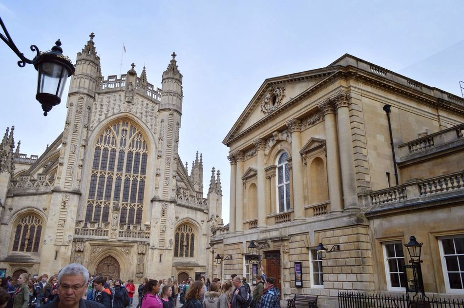 Historical Sights Roman Bath Sightseeing Bath Abbey