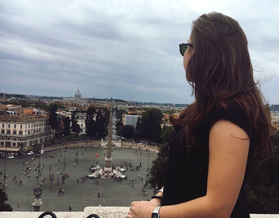 La città eterna💖 Roma Pincio Pincioterrace Cityview Lacittàeterna Enjoying Life Rome Rome View