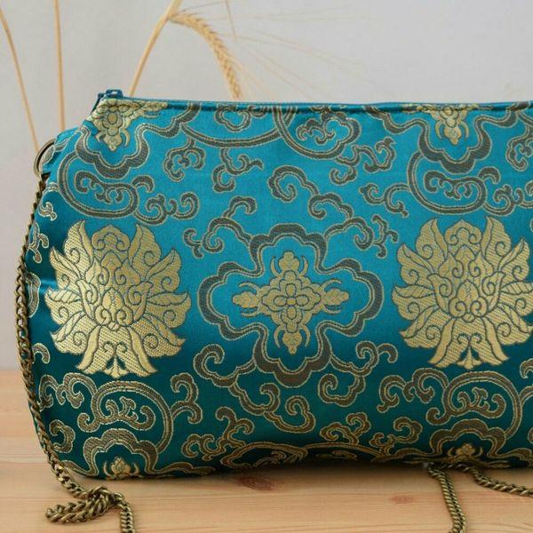 Purse Bolsos Que Enamoran Oriental Design Pursebag Bolso Chinese Golden Green Handmade Fashion Trendy Shops Love Is In The Air