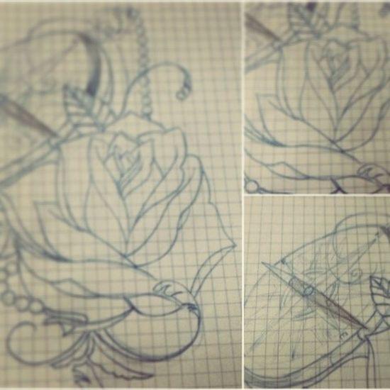 Tatuaje Tatuajes Tattoos Tattooadict mydrawing newschooltattoo