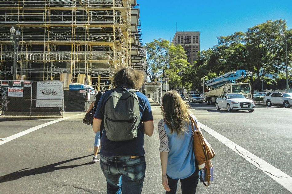 Beautiful stock photos of los angeles, Architecture, Backpack, Building - Activity, Building Exterior