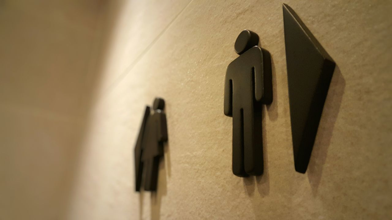 Toilet Toilet Sign Male Toilet Female Toilet Sign Signs Signage Toilet Signage Sculpture Restroom Restroom Signage Restroom Sign Learn & Shoot: Balancing Elements Two Is Better Than One