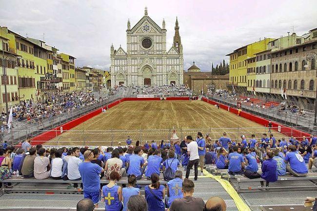 Azzurri Florencehistory Gladiators Bianchi CalcioStorico People And Places