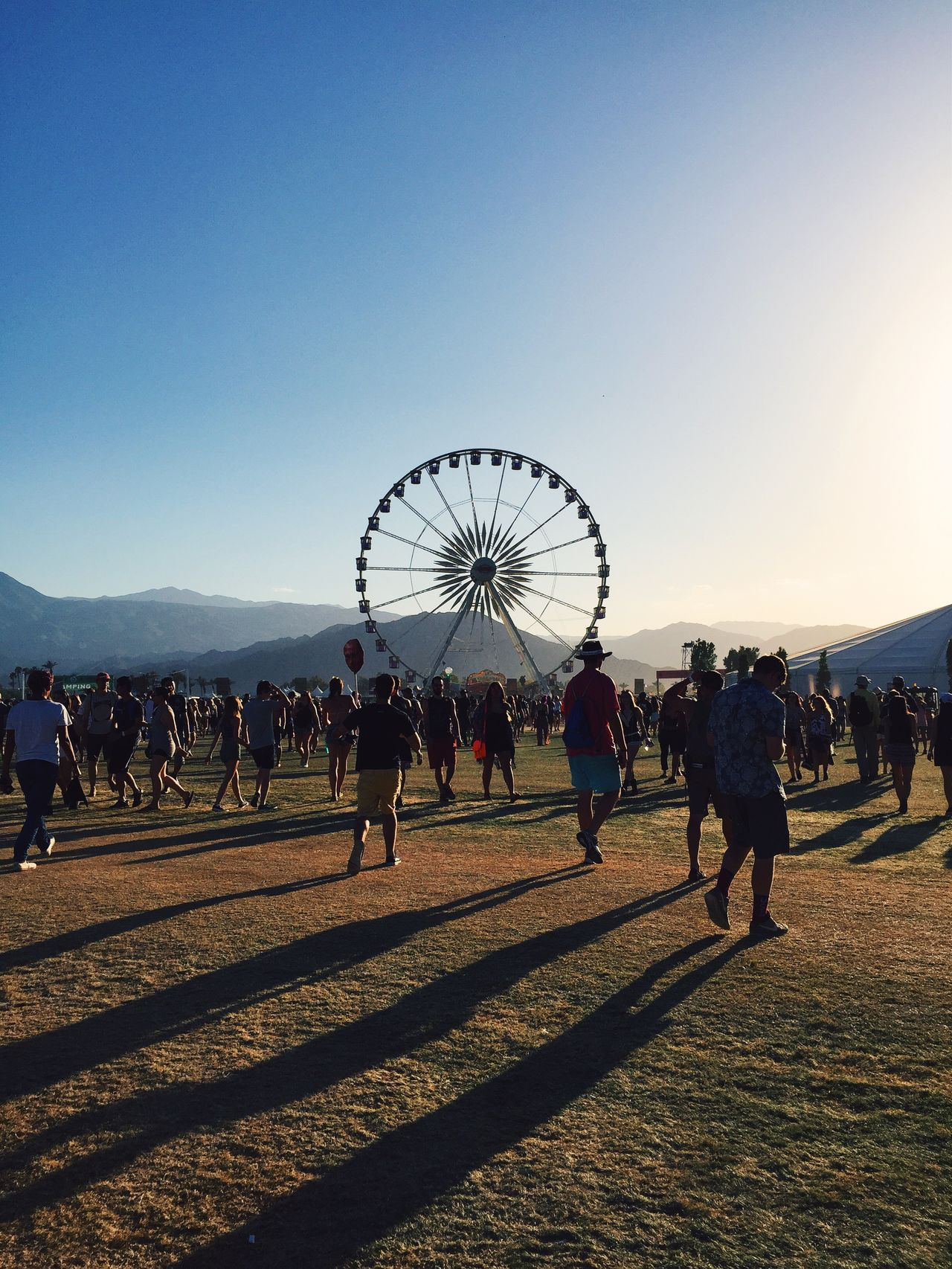 Beautiful stock photos of music festival, Amusement Park, Clear Sky, Crowd, Ferris Wheel