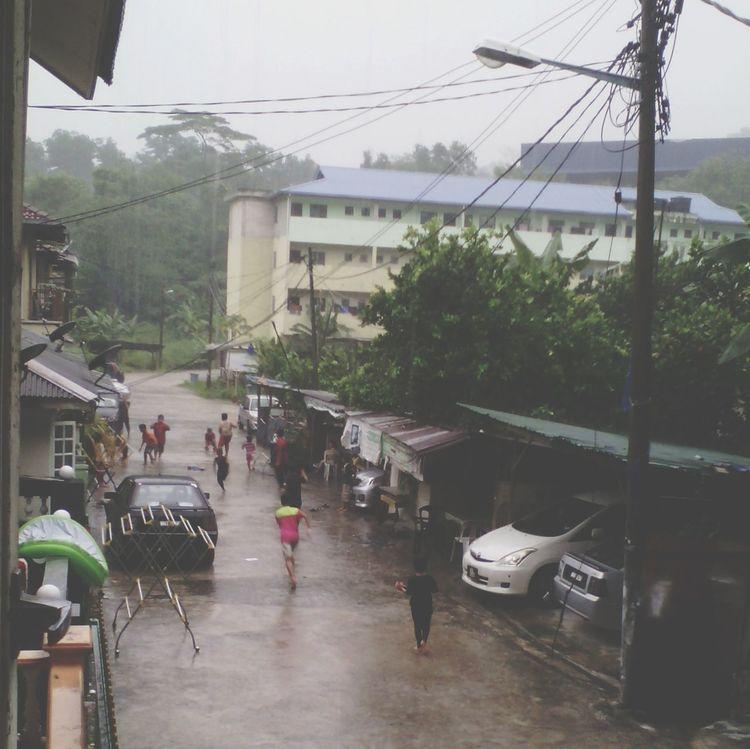childhood Remembering Childhood Childhood Memories Playing Raining 😢🏃🏃🙆☔😄✌💦