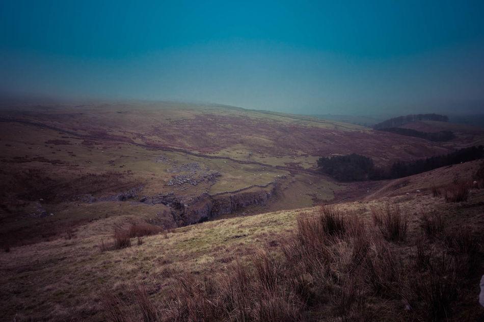 Mountain Pen-y-ghent Three Peaks Yorkshire Dales Yorkshire Three Peaks
