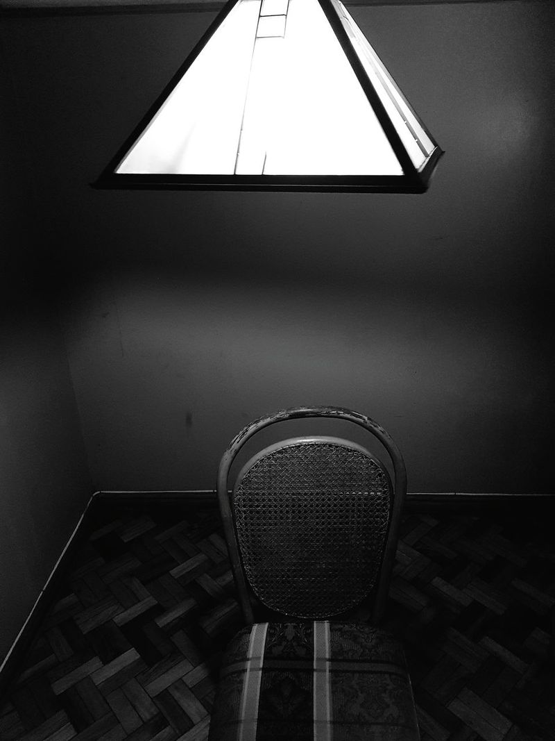 Chair Indoors  Nightphotography Night Chair Lie Questions Investigation Inquiry Interogation Room Alone Waiting
