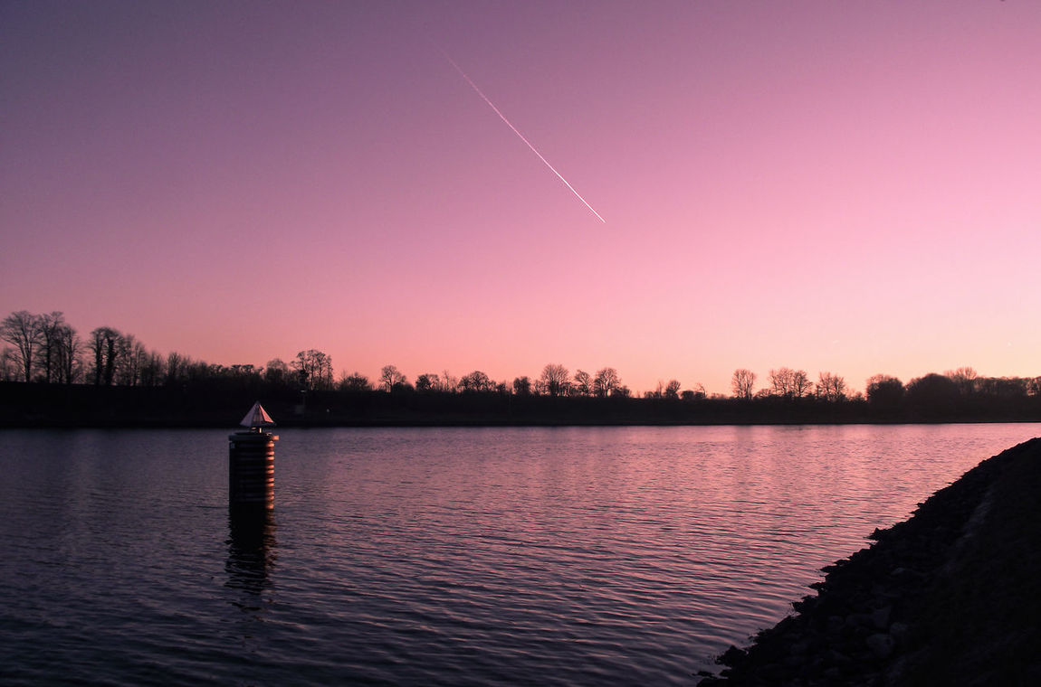 Beauty In Nature Calm Clear Sky Colour Of Nature Colours Dusk Evening Sky EyeEm Nature Lover Idyllic Lake Nature No People Outdoors Purple Reflection River Scenics Silhouette Sky Sunset Tranquil Scene Tranquility Tree Water Landscapes With WhiteWall