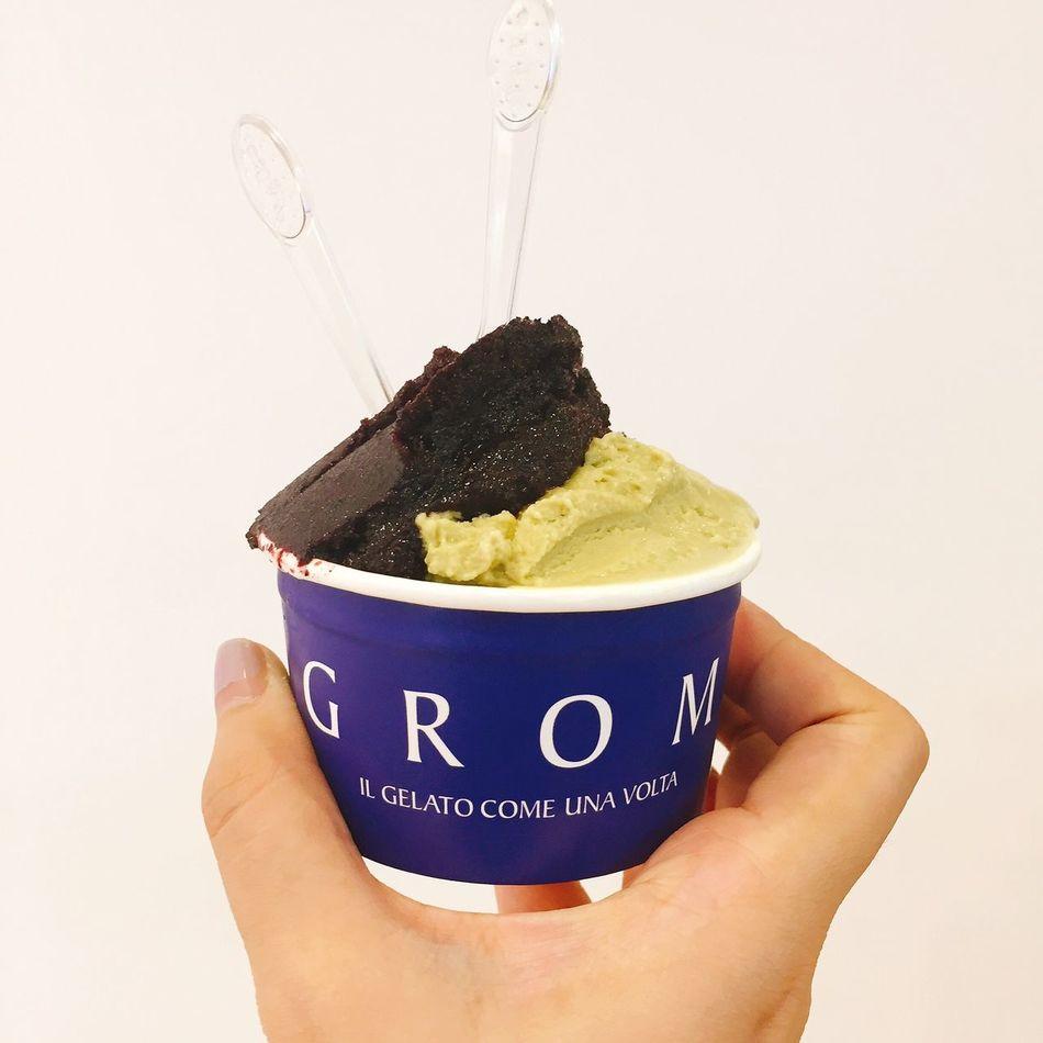 Food Human Hand Food And Drink Dessert Icecream Gelato
