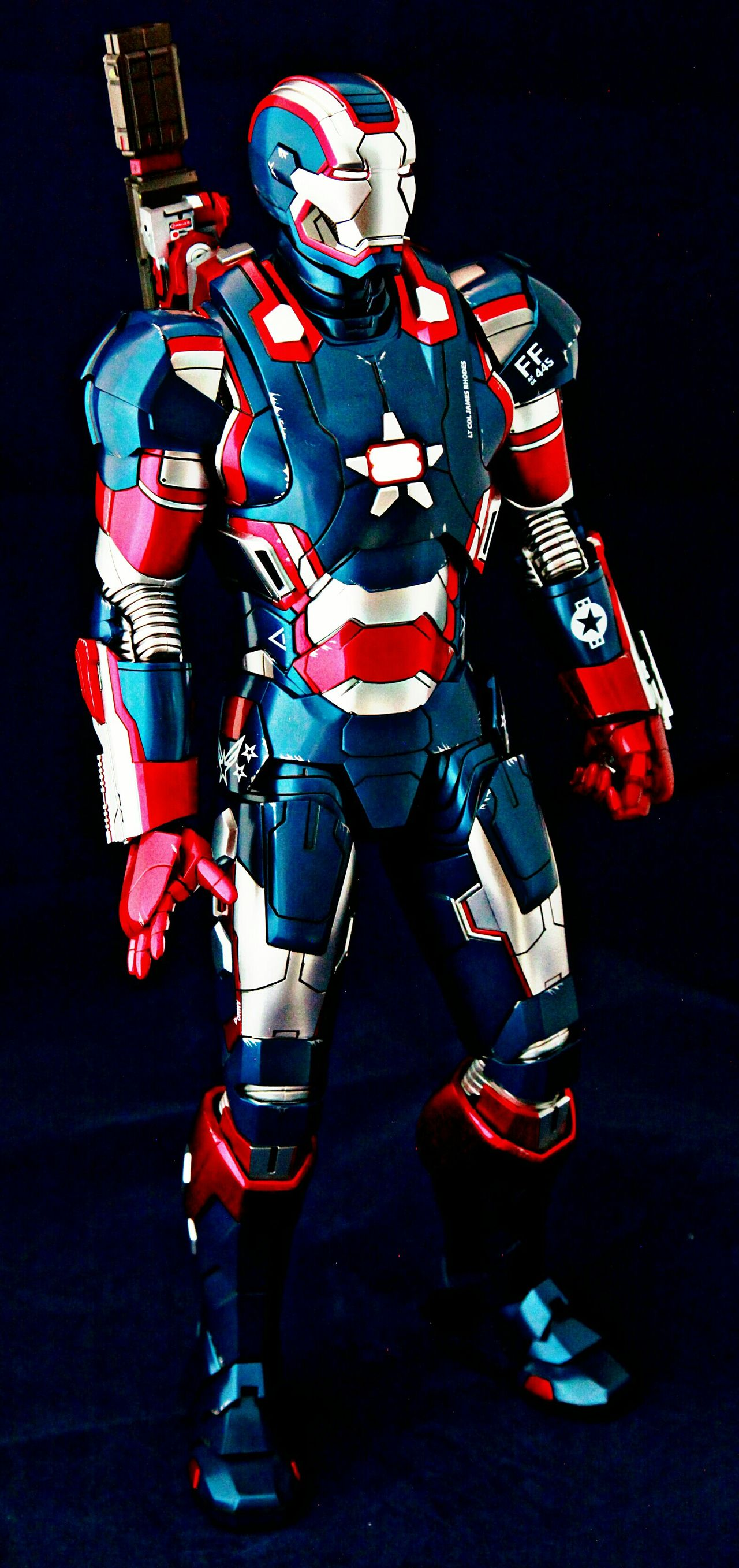 Ironman Hottoys Toyphotography Marvel Onesixthscale Housepartyprotocol Ironlegion IronPatriot Warmachine