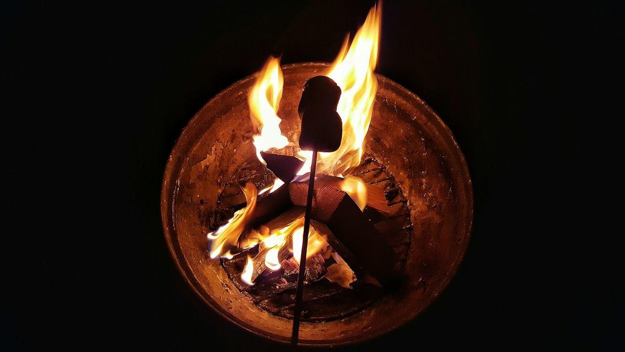 Roasted Staycation Making Smores Fire Roasting Marshmallows Roasting Backyard Backyard Camping Camping Camp Out Yummy Hot Treats