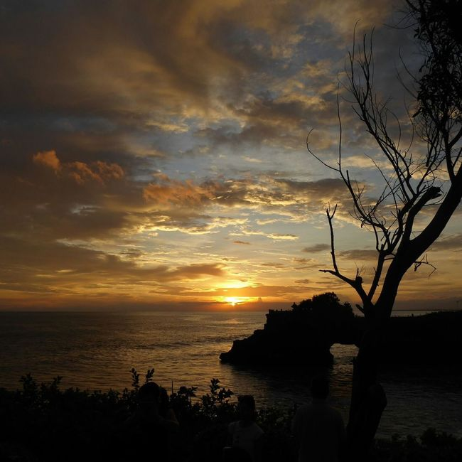 Sunset at Tanah Lot , Bali First Eyeem Photo