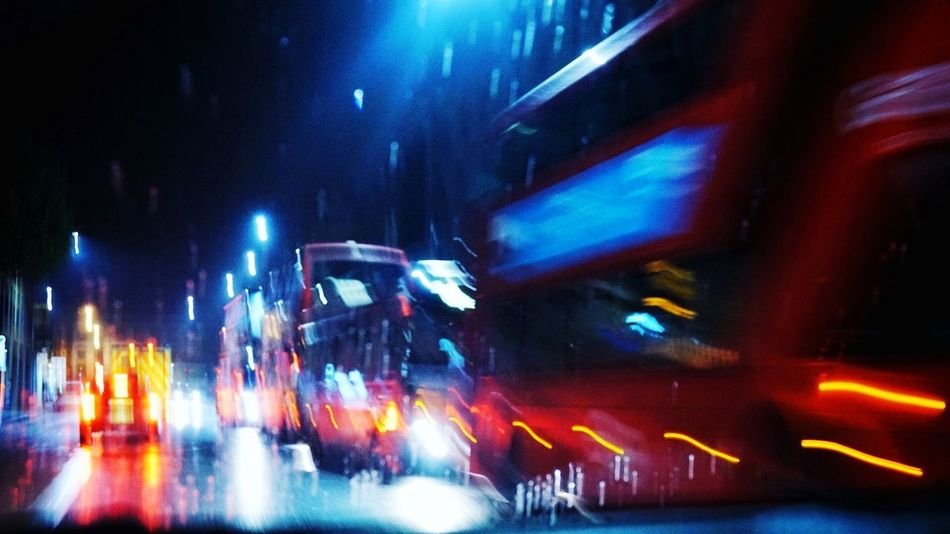 Journey London London At Night  Rain Bus Tfl Transport Photography TransportForLondon Night Arts Culture And Entertainment Nightlife Music Blurred Motion Illuminated Popular Music Concert Performance Audience Fan - Enthusiast Crowd People Outdoors City Performance Group