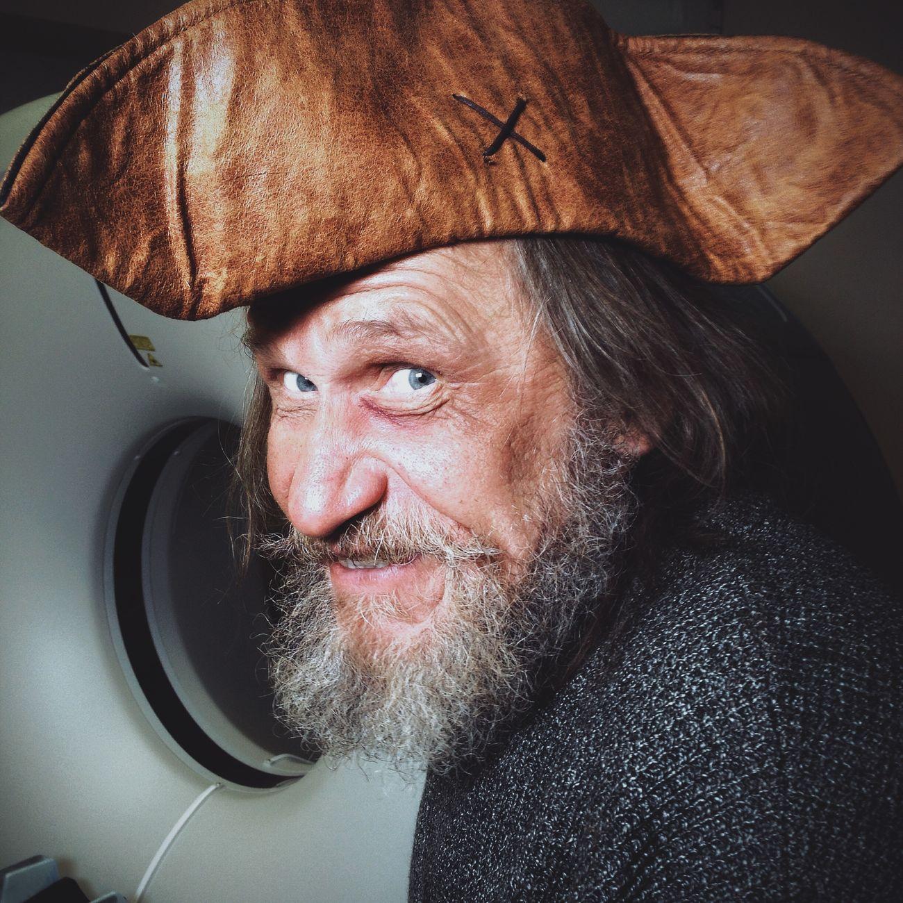Пират и кт-аппарат медицина Поликлиника Россия Russia Mobilephoto Moscow Beautiful Portrait