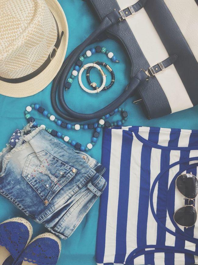 Beachwear Summer Fashion Summer Blue Beach Showcase June