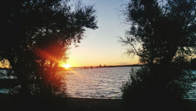 Beautiful Sunset during camping Camping Relaxing Peaceful Being Adventurous