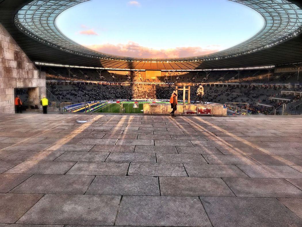 Olympiastadion Berlin Hertha BSC BvB Magic