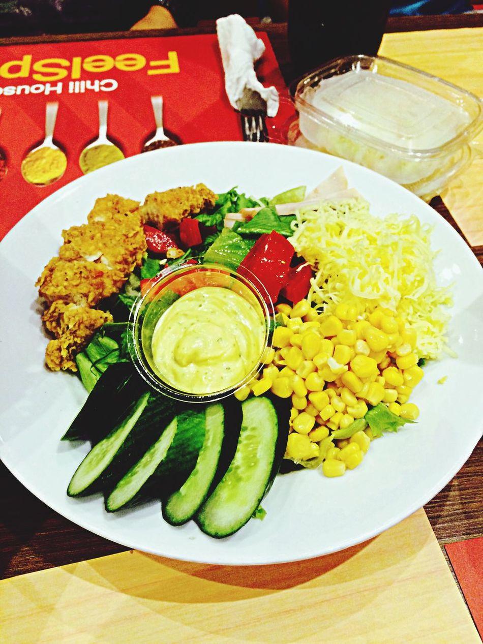 Vegie Salad Dine In Foodporn❤️