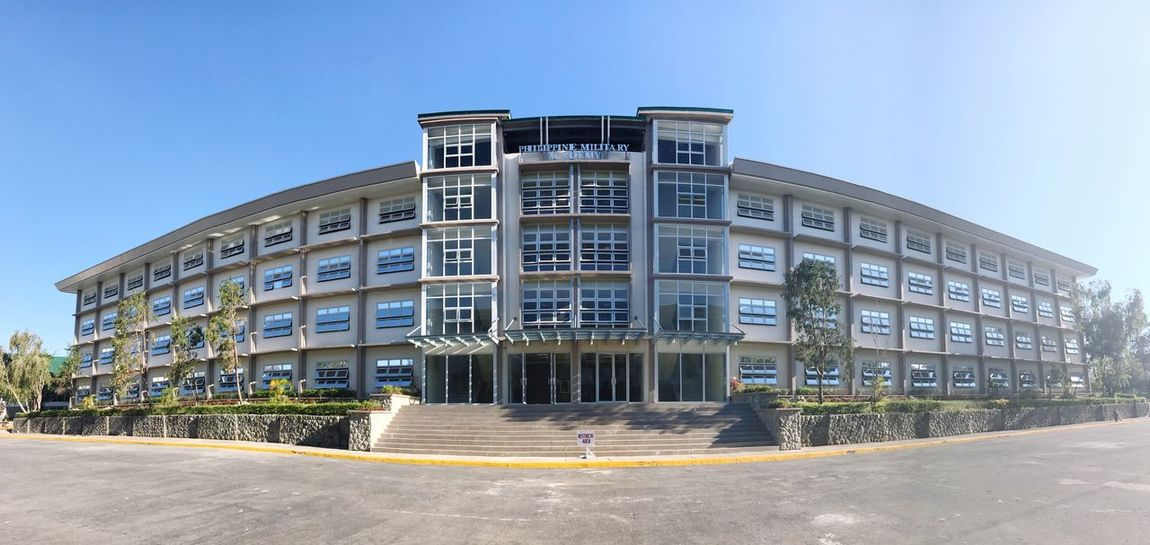 Philippine Military Academy Architecture Clear Sky Built Structure Building Exterior Day Outdoors Sky No People Façade City