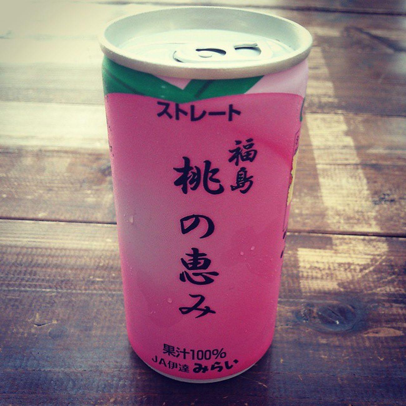 桃食べよるみたい 桃 福島 100 % ジュース JA伊達