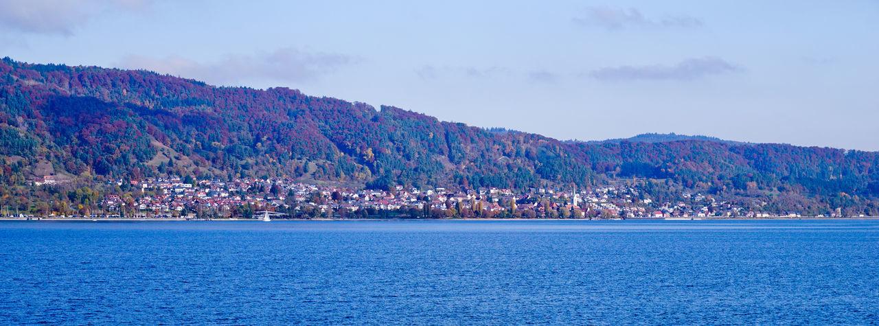 Bodman Lake Constance Lake View Nature Recreation  Sipplingen Sky Sky And Clouds Water Überlingen
