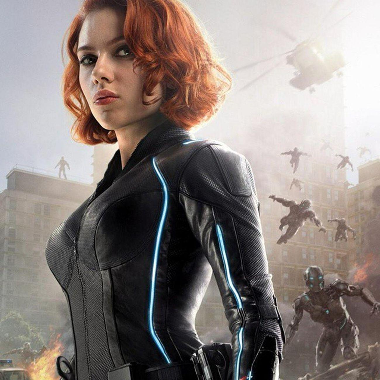 This woman. Only the best... ScarlettJohansson Avengers Avengersageofultron
