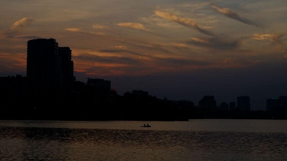Sunset City Hanoi Hanoian Whereilive Vietnam Fujifilm_xseries New Player City View  Urban
