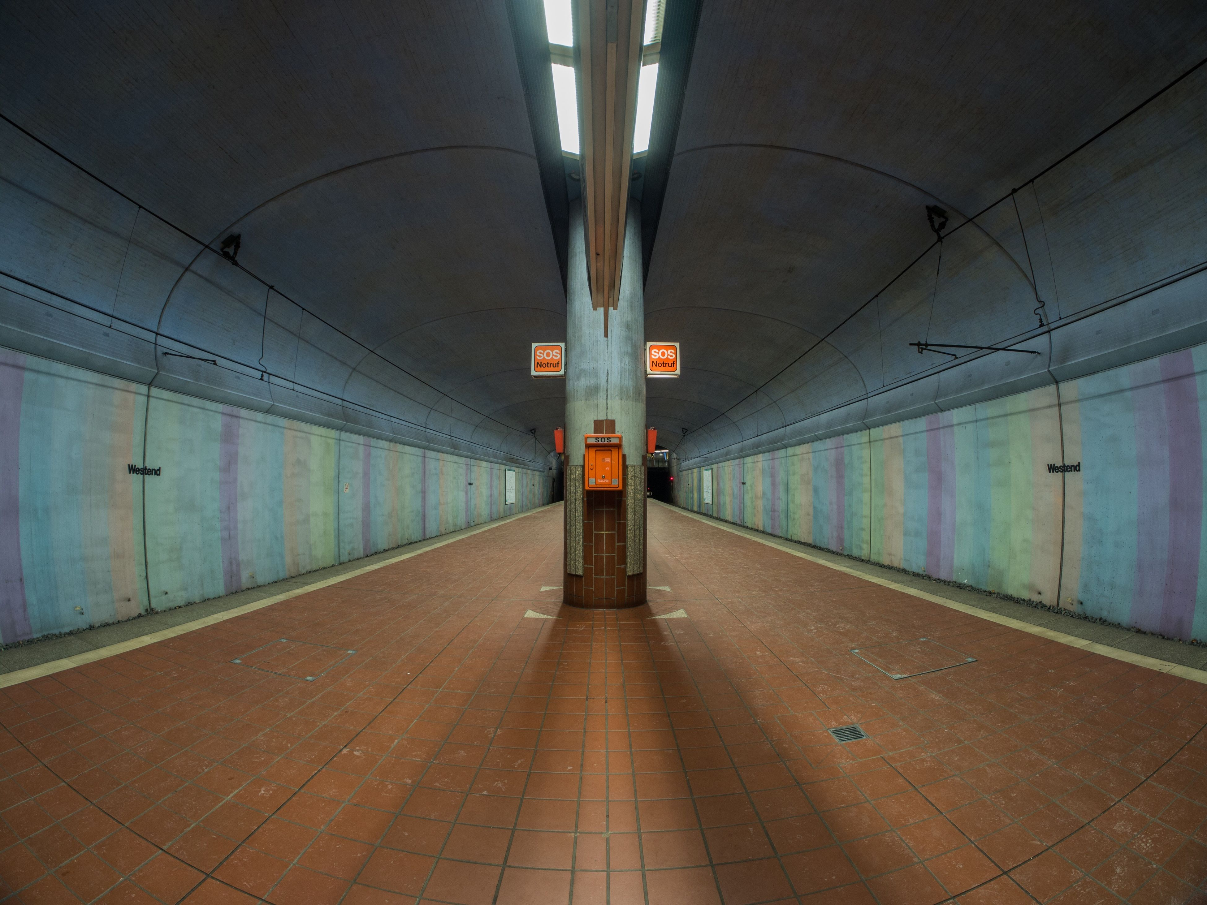 Waiting 🚉 Indoors  Illuminated Architecture Built Structure No People Day Tunnel Tube Metro Subway Frankfurt Underground Art Abstract Architecture Railroad Station