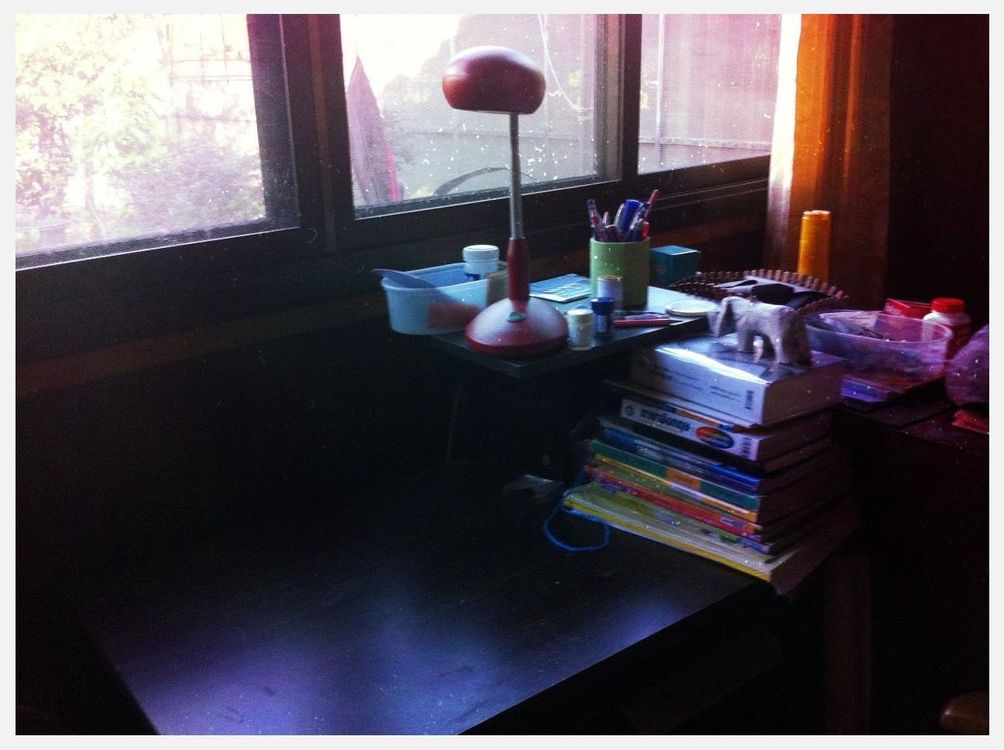 My desk by Nattharat Imanotai