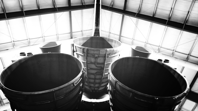 Space Shuttle Endeavor Main Engine Vertical Stabilizer