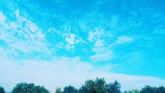 Topraktan ayrılalım bir sure icin, Dunya bir yere kacmaz biz yuzerken goklerde 🎶 Sky Shootblue Yavuzçetin Skyhasnolimit Blue Bestpicoftheday