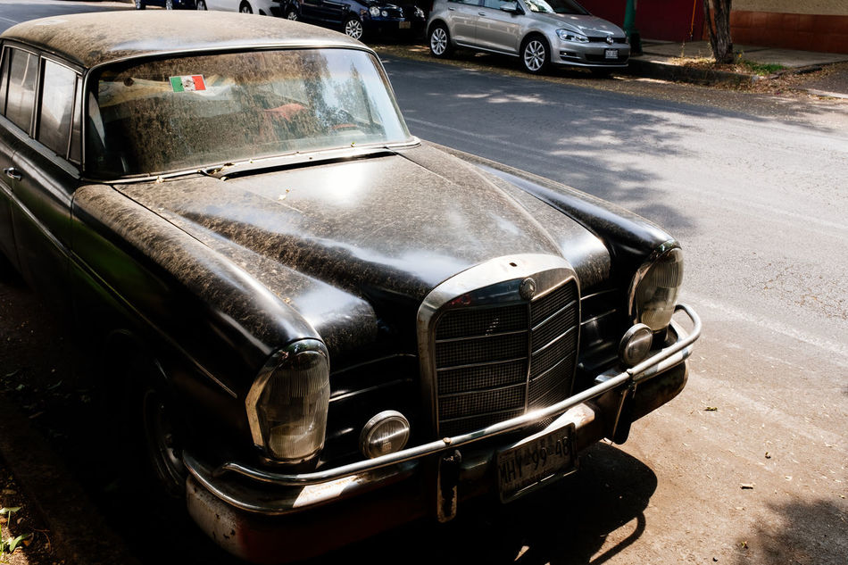Car Collector's Car Day Headlight Land Vehicle Mexico Mode Of Transport No People Old-fashioned Outdoors Transportation Vehicle Hood