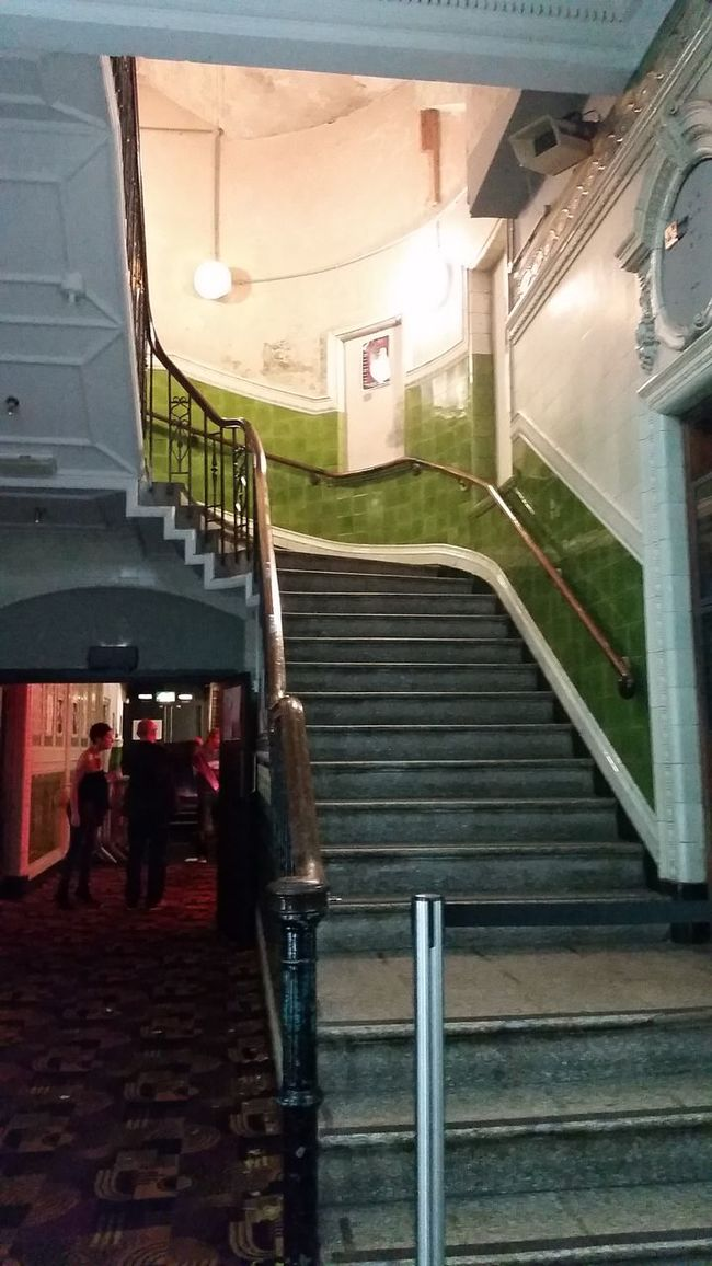 Manchester Albert Hall Staircase