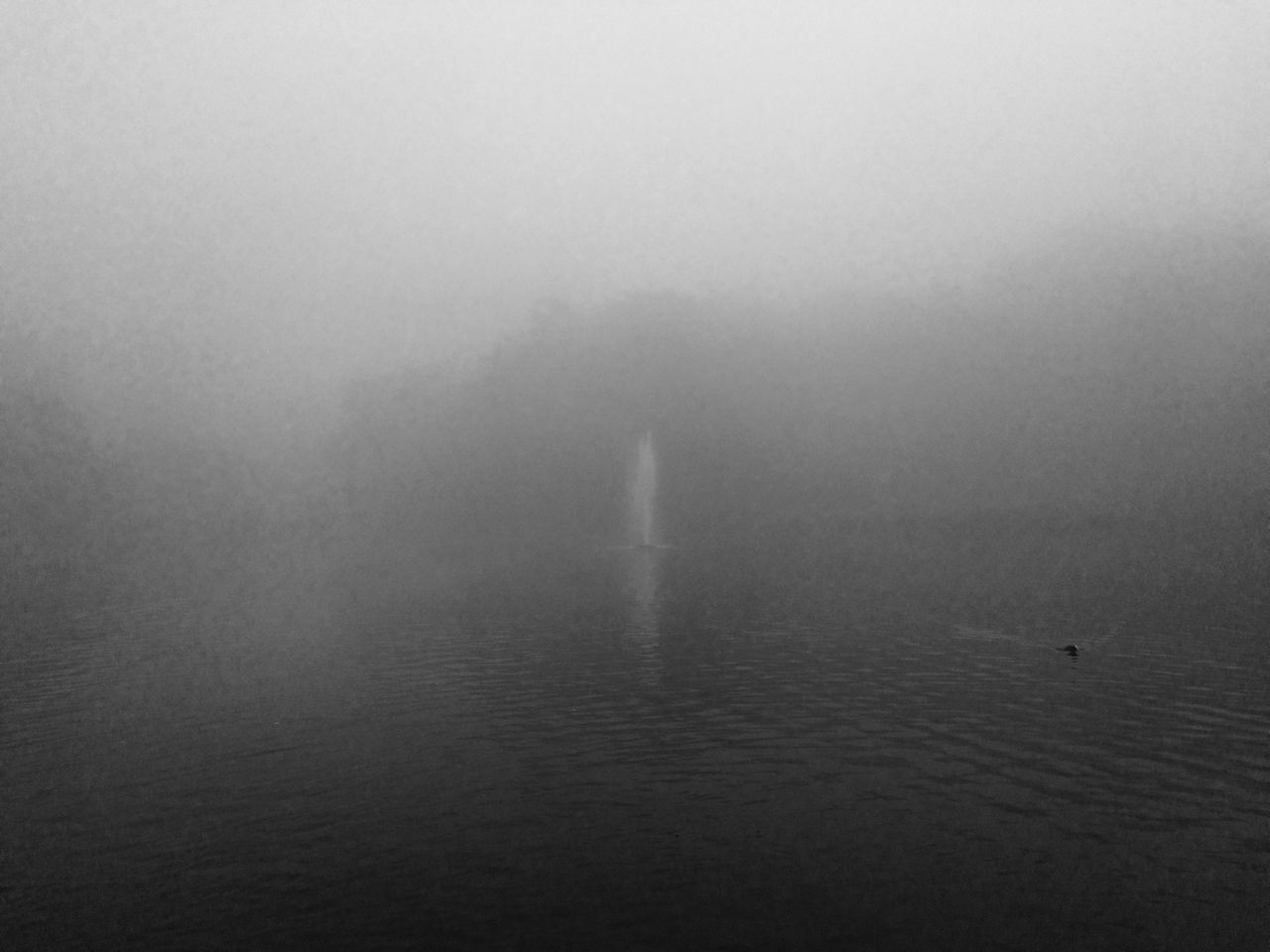 water, foggy, waterfront, beauty in nature, nature, fog, outdoors, day, scenics, tranquility, transportation, no people, sea, sky