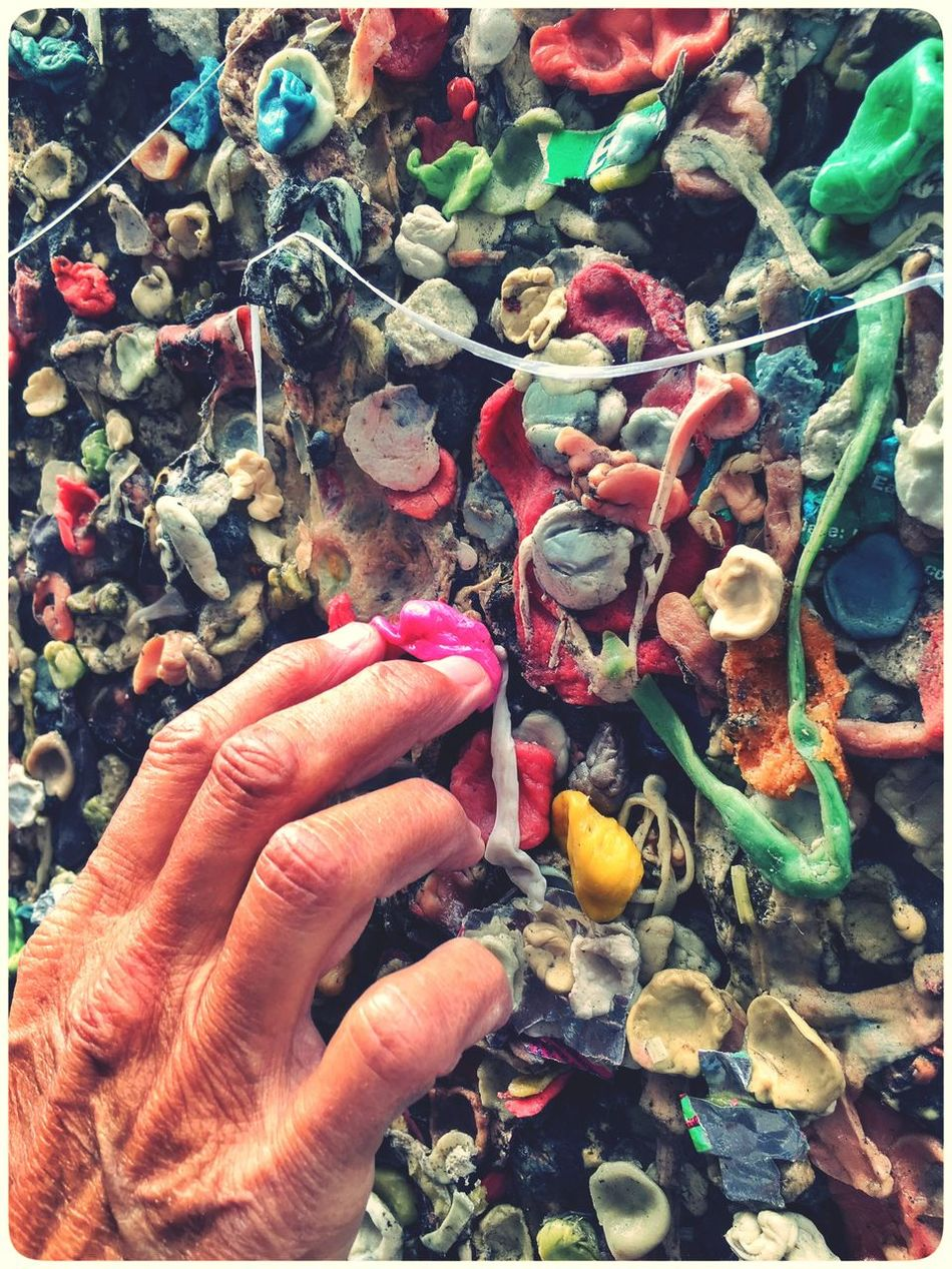 Gum Alley......Making My Contribution Bubblegum Check This Out Taking Photos That's Me Enjoying Life IPhoneography Selfie ✌ Selfportrait Streetphotography Street Photography Funny Pics Fun Funny Moments
