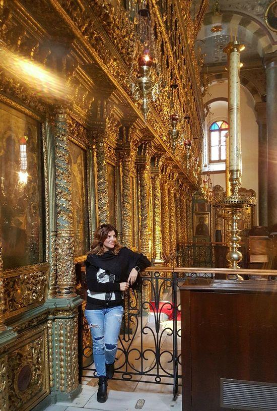 Bendenbirkare Fener Rum Patrikhanesi Relaxing Taking Photos Religion Ibadethane Barocco Barok Altın Varak