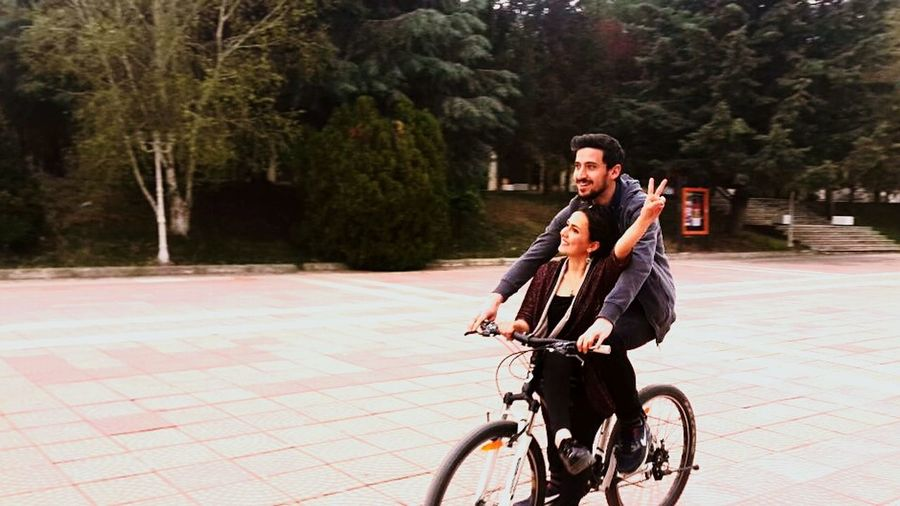 Showcase April Cycling Love Peace ✌ Imagine Your World Happy University Campus İnonuuniversite Spring Time Natural