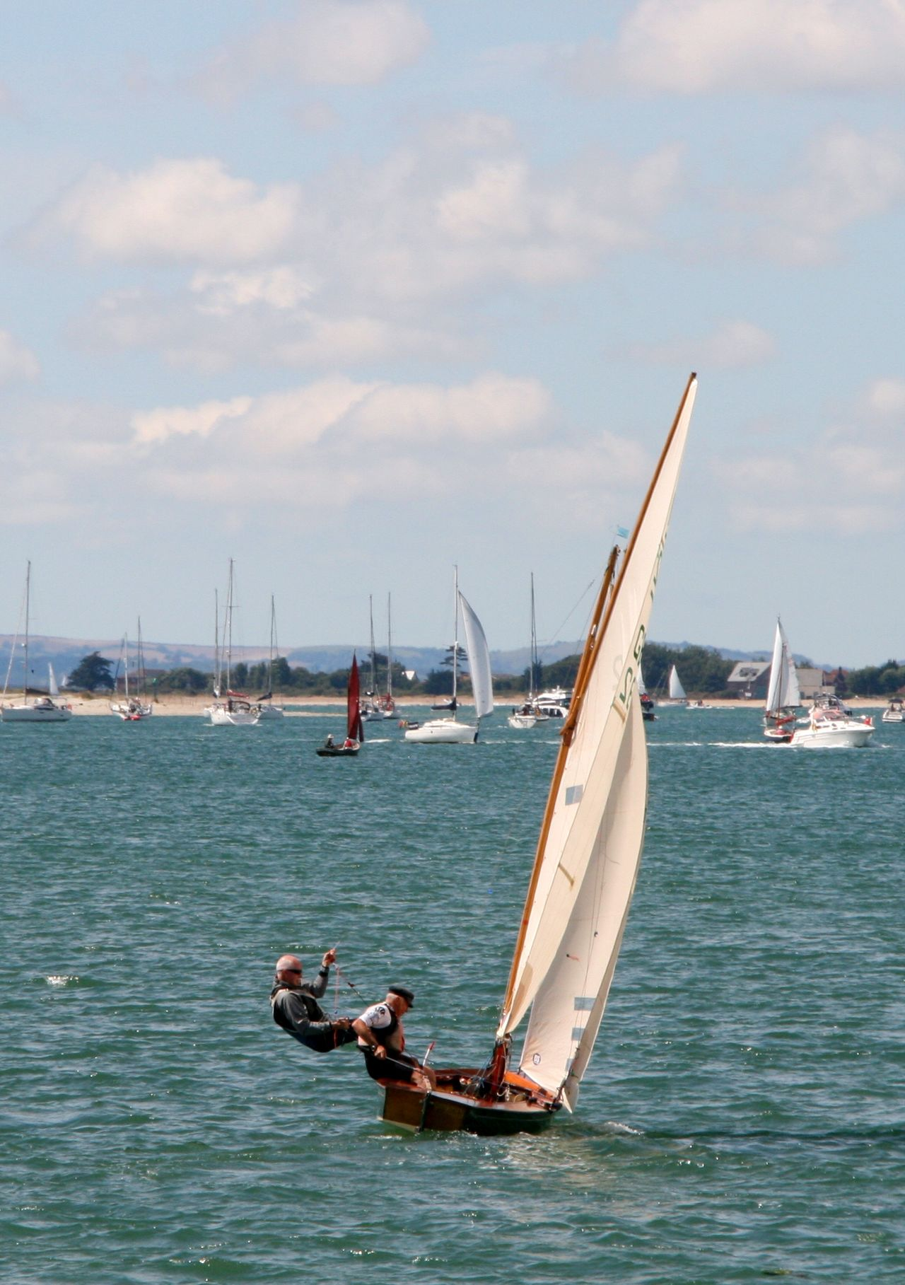 Sailing Boat Chichester Harbour Sailboat Sailing Sea Water The Essence Of Summer