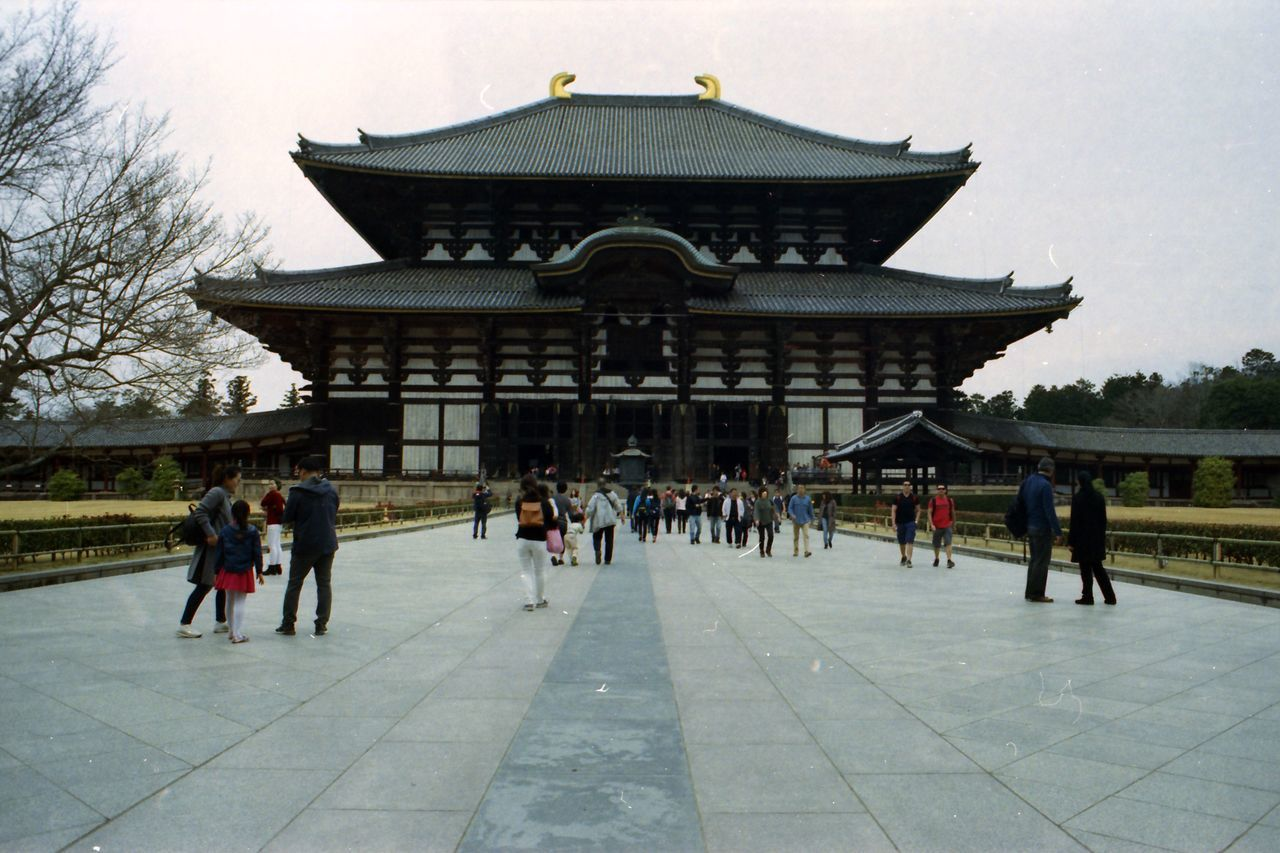 Architecture Building Exterior Built Structure Film Kodak Kodak Vision 3 500T Large Group Of People Men Rnar Temple Temple - Building Landscapes With WhiteWall Landscape With Whitewall UNESCO World Heritage Site