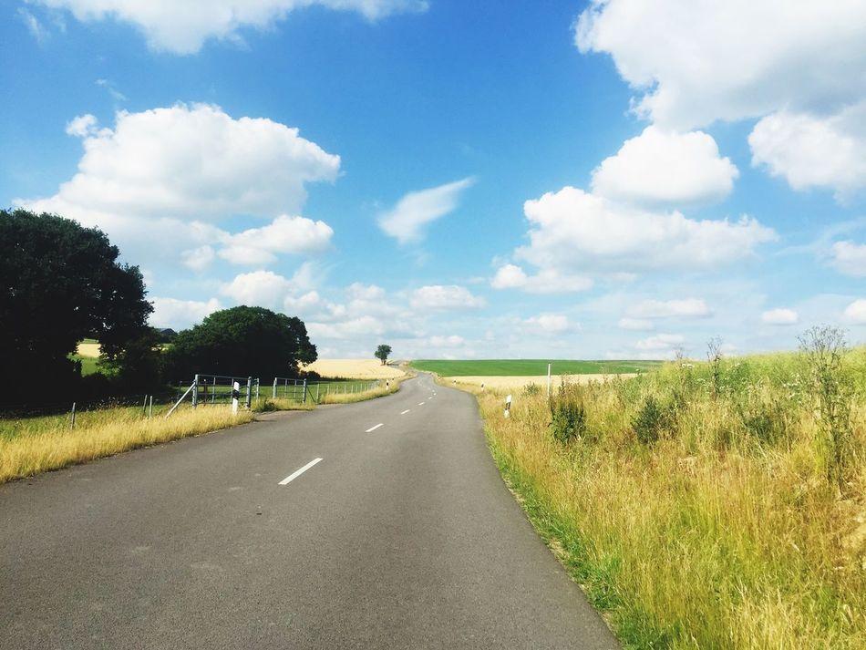 Beautiful stock photos of luxemburg, Cloud - Sky, Day, Empty Road, Field