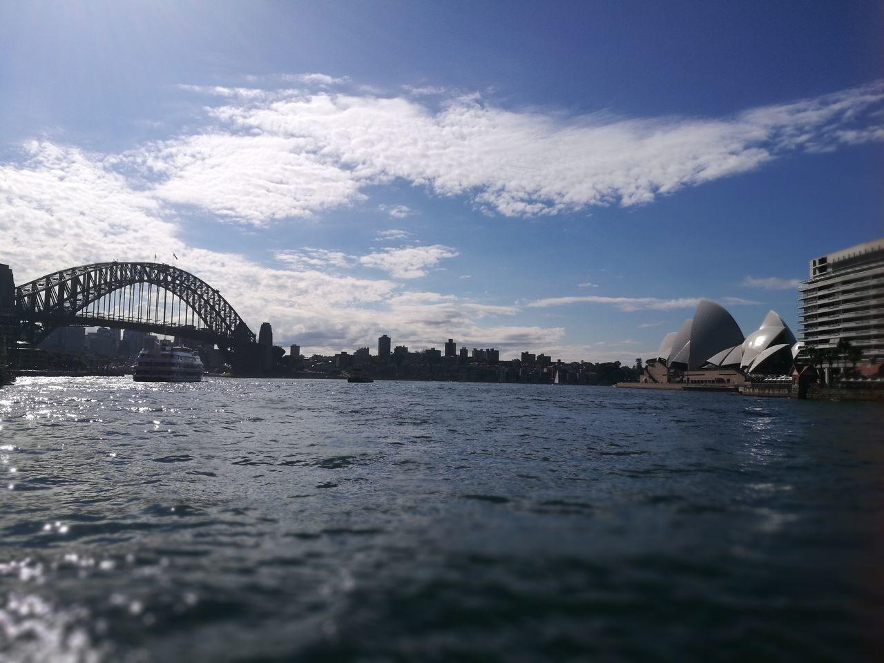 Travel Destinations Bridge - Man Made Structure Travel Outdoors Sky City Cityscape Sydney Harbour Bridge And Opera House Opera House Sydney Harbour Bridge Beautiful Harbor